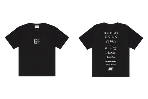 Fear of God Taps Off-White™, Union LA, Awake NY and More For Charitable T-Shirt