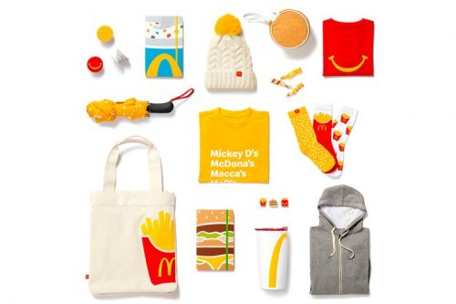 McDonald's Golden Arches Unlimited Merchandise Shop With Holiday Items