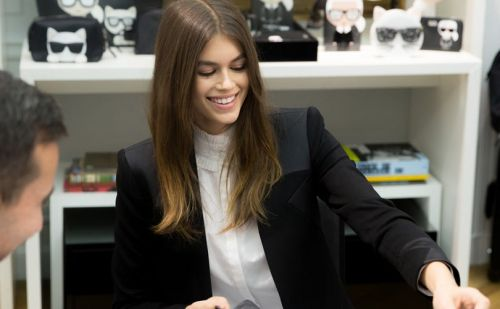 Karl Lagerfeld to collaborate with model Kaia Gerber