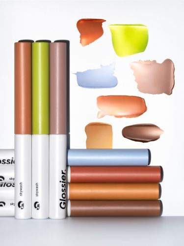 I Tried All of Glossier's New Skywash Eyeshadow Colors-Here Are My Faves
