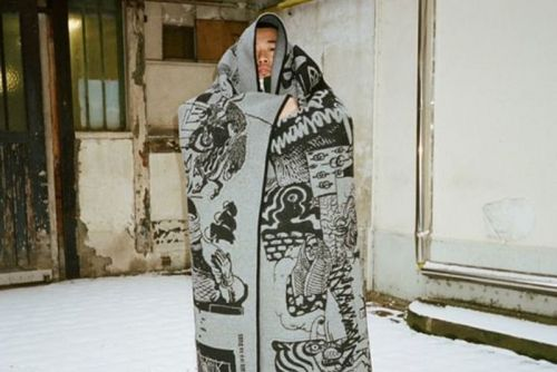 BYBORRE Enlists Yué Wu for Special Scarf Collection