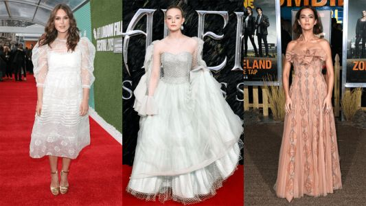 Celebrities Dressed up in Princess-Worthy Gowns This Week