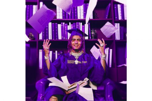 Lil Pump Reveals the Cover & Release Date for His Sophomore Album, 'Harverd Dropout'