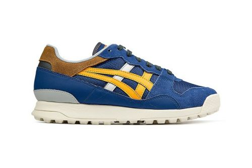 """Onitsuka Tiger Drops """"Horizonia"""" Trainer in Sporty """"Midnight Blue/Citrus"""""""