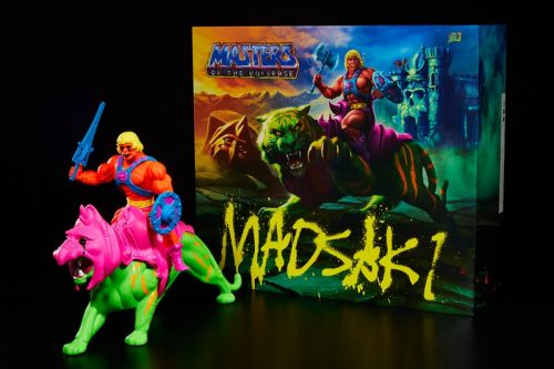 MADSAKI Unveils 'Masters of the Universe' Collab With Mattel