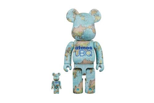 Atmos & UBIQ Come Together for a Medicom Toy BE RBRICK Collaboration