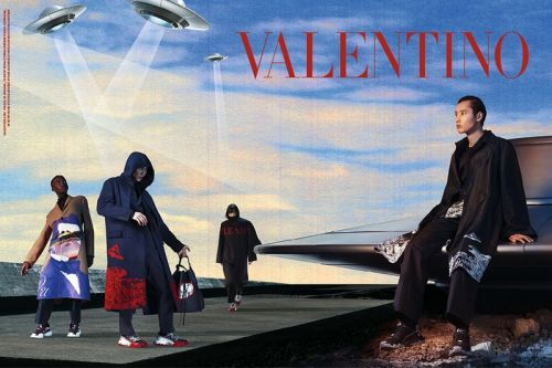 Valentino's FW19 Campaign Celebrates UNDERCOVER's Otherworldly Presence