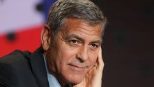 Terrifying George Clooney Crash Footage Shows Moment Actor Was Flung Into The Air