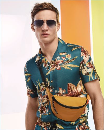 Julian Schneyder Inspires in High Summer Styles from River Island