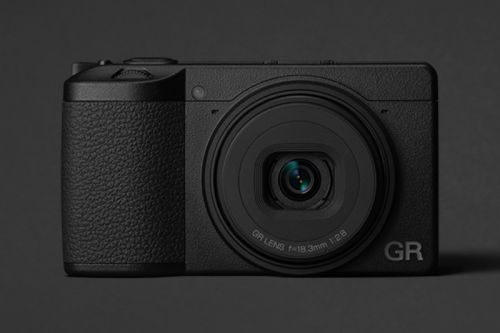 Ricoh's GR III Camera Drops Next Month