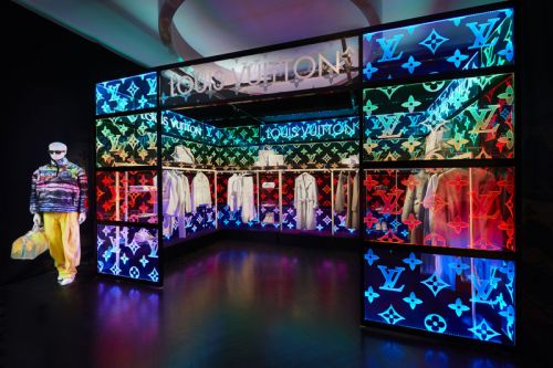 Louis Vuitton Opens an Pop-Up For Virgil Abloh's SS19 Debut Collection