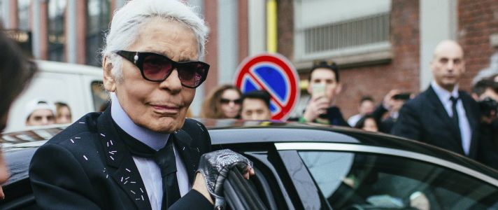Karl Lagerfeld's Photograph Collection Comes to the Blockchain