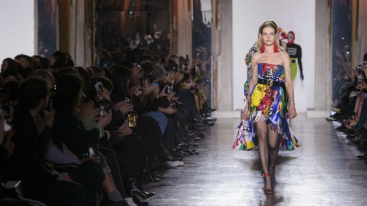Every Look From Versace's Fall 2018 Collection