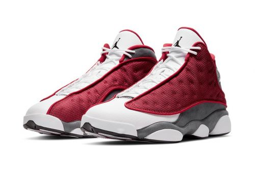 "Official Look at the Air Jordan 13 ""Gym Red"""