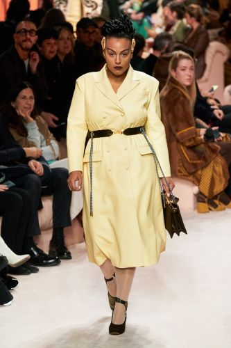 Paloma Elsesser stole the show at Fendi