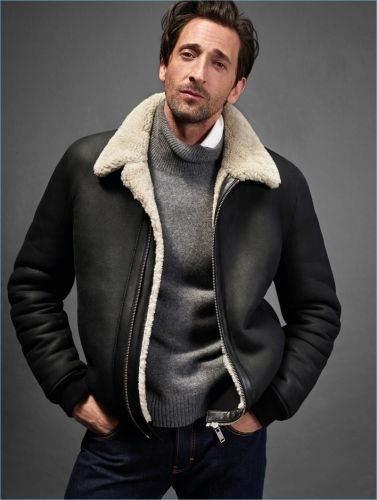 Adrien Brody Reunites with Mango for 10th Anniversary Collection Campaign