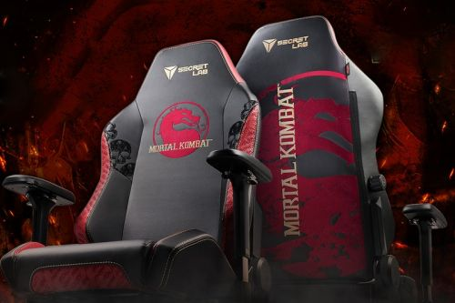 Secretlab's New 'Mortal Kombat' Gaming Chairs Are Toasty