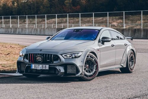 "Brabus Tunes Mercedes-AMG's GT 63 S Into a $500k USD ROCKET 900 ""One of Ten"""
