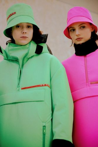 Prada does neon, nylon, and brings back some favourite models