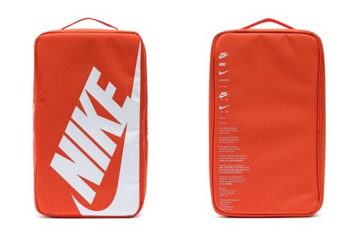 Nike Sportswear's Shoebox Bag Is the Only Way to Carry Your Kicks