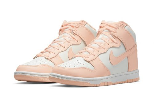 """Here's an Official Look at the Nike Dunk High """"Crimson Tint"""""""