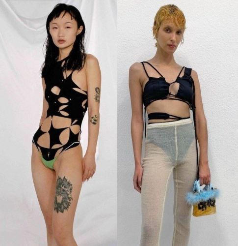 Why sexy, spidery cobweb fashion is going to be everywhere post-pandemic