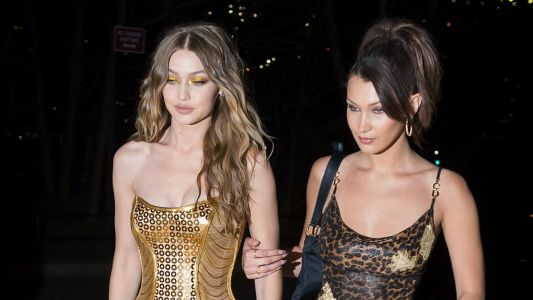 Gigi Hadid Celebrated Her 23rd Birthday in Dazzling, Head-to-Toe Gold