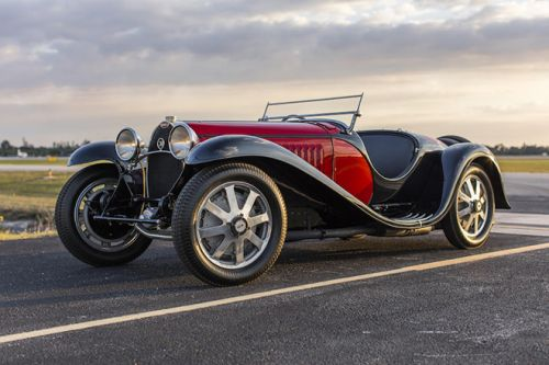 The Type 55 Super Sport Roadster is The Most Expensive Bugatti on Auction
