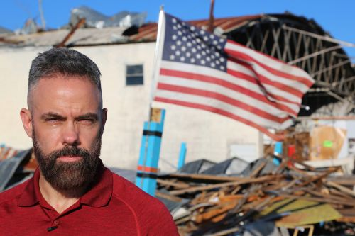 'Hurricane Man' goes inside scary life of a storm chaser