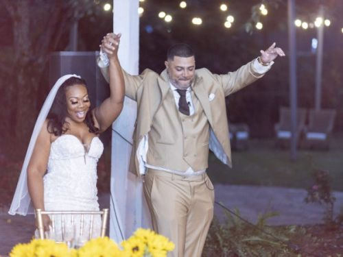 Bridal Bliss: After Fixing Her Love Life With Help From Iyanla Vanzant, Christal Said 'I Do' To Adrian In A Garden Wedding In Atlanta