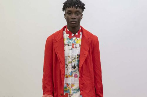 Patchwork & Comic Prints Dominate COMME des GARÇONS SHIRT's FW19 Collection