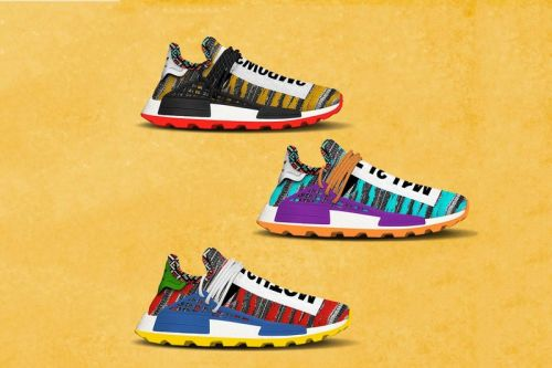 The Pharrell Williams x adidas Originals Afro NMD Hu Pack Is Slated for a Summer Release