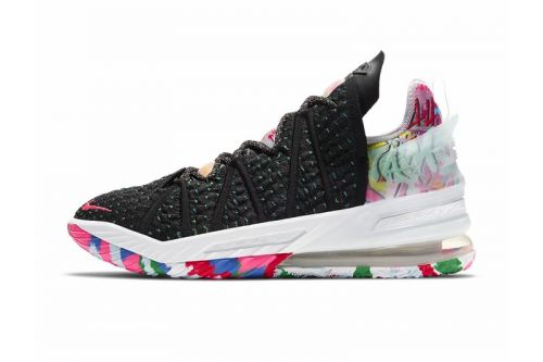 """An Official Look at Nike's LeBron 18 """"Multi-Color"""""""