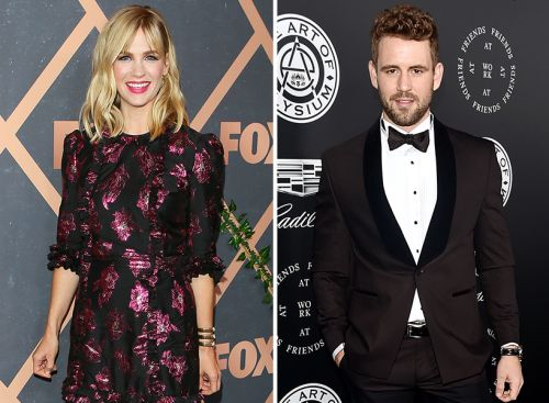 Hold Up, Nick Viall and January Jones Are Dating?!