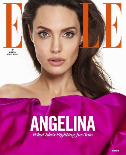 ‪The March issue is here. Angelina Jolie speaks out for women