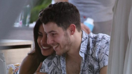 Nick Jonas and Priyanka Chopra Snuggled Up by the Pool Together Is MarriageGoals