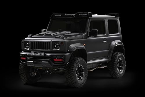 "WALD Releases a Rugged ""Black Bison"" Kit for the Suzuki Jimny"
