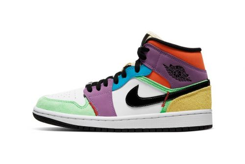 "Air Jordan 1 Mid SE ""Multicolor"" Offers Spirited Spring Style"