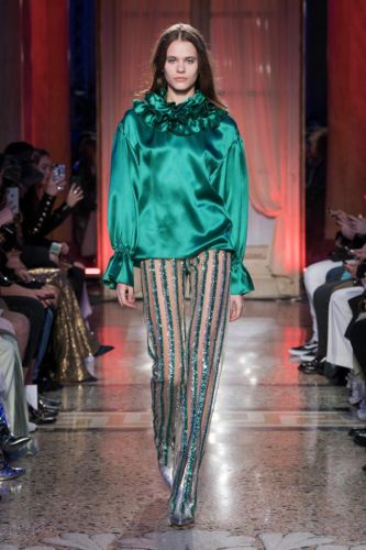 Genny Fall 2018: Milan Fashion Week