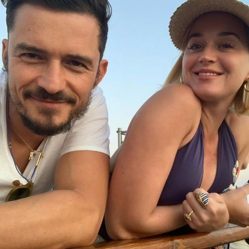 LOL! Katy Perry Steps in to Save Fiance Orlando Bloom's Instagram Live After a Few 'Hiccups'