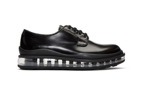 Prada's Clear-Soled Derby Shoe Will Add a Touch of Flair to Classic Looks