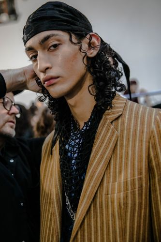 Ann Demeulemeester AW19 channelled the youthful rebellion of 1970s Antwerp