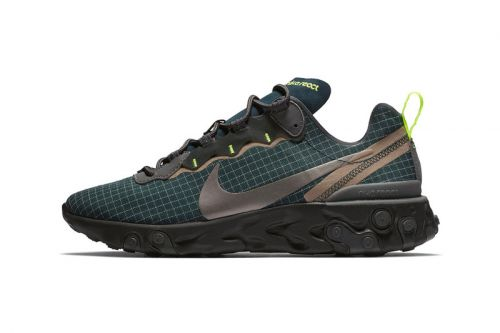 Nike's React Element 55 Dons a Deep Green Look