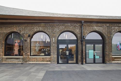 Take A Look Inside A.P.C.'s New Industrial-Themed London Store