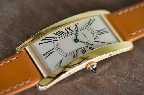 Cartier Travels Back in Time for Tank Cintrée 100th Anniversary Watch