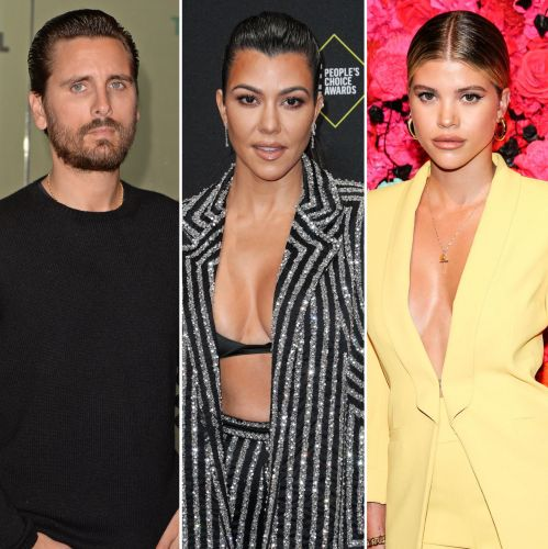 Scott Disick Playfully Teases Ex Kourtney Kardashian Amid Sofia Richie's New Matthew Morton Romance