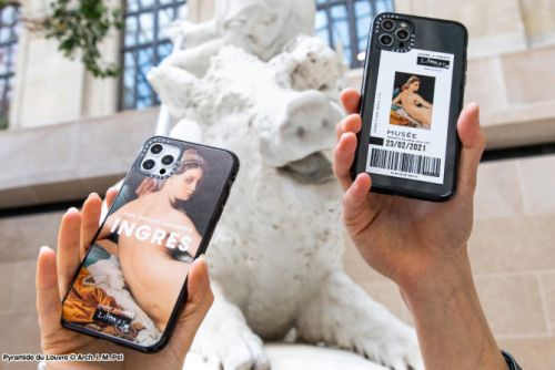 The Louvre x Casetify Collection Is The Epitome Of Museumcore