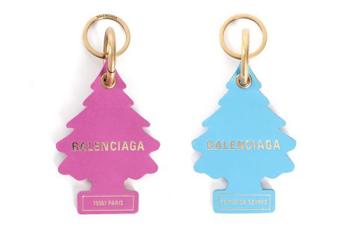 Balenciaga Drops Air Freshener-Inspired Pine Tree Keychains
