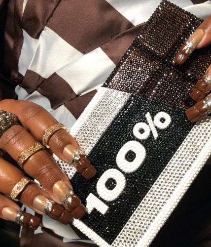 Lizzo's Nails Were Dripping In Chocolate At The 2020 BRIT Awards