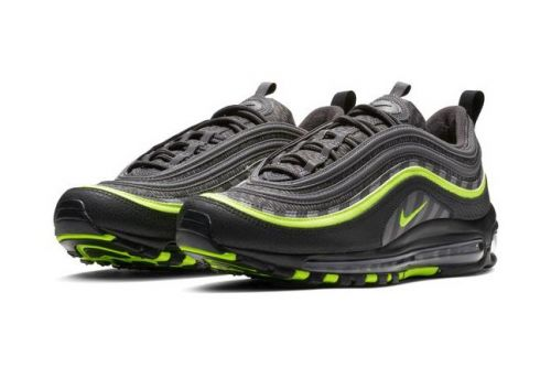 "Nike Energizes the Air Max 97 in ""Thunder Grey/Lime Blast"""